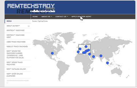 REMTECHSTROY®Group Offices and Partnerfirms