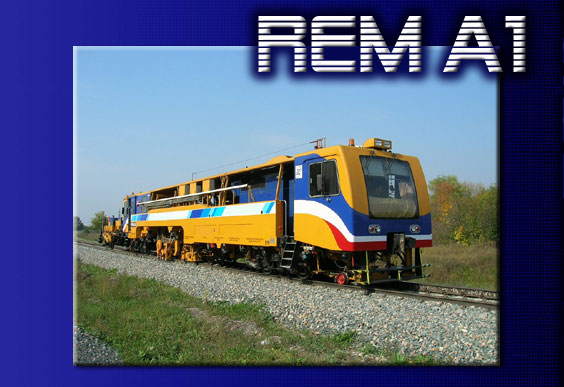 Sell New REM/A-1 Mainline tamping machine [09-32] Rem-a1