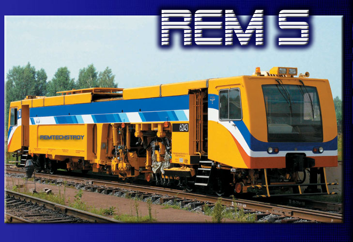 Sell New REM/A-1 Mainline tamping machine [09-32] Rem-s